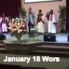 January 18 Worship